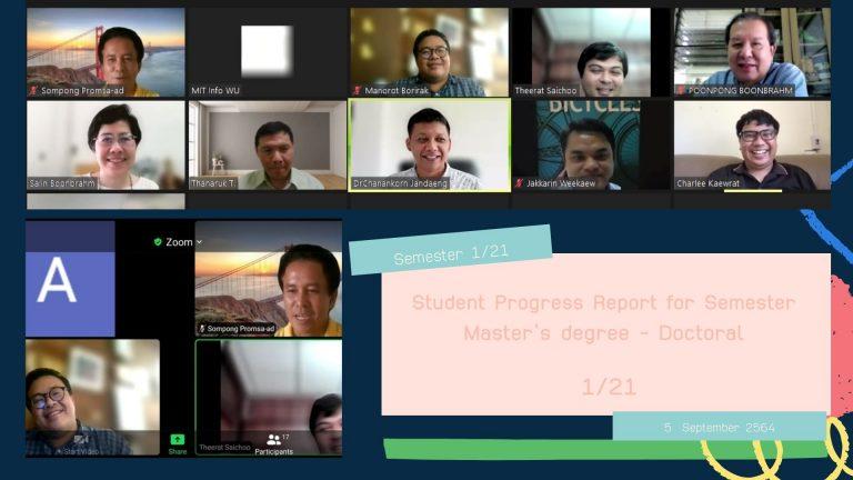 thesis progress report