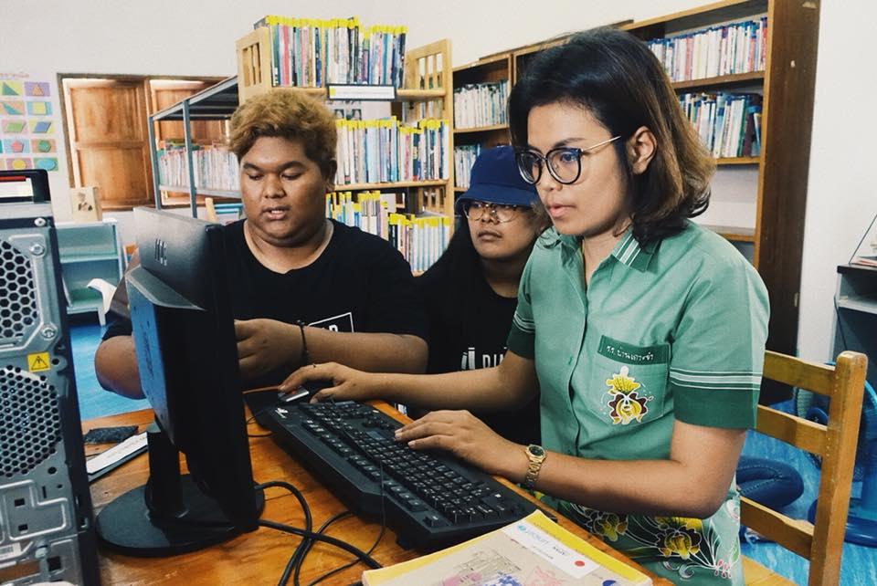 โครงการค่ายอาสาพัฒนาห้องสมุดเพื่อน้อง